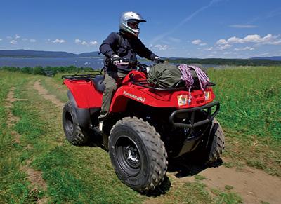 Квадроцикл Kawasaki KVF360 4x4