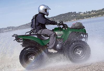 Квадроцикл Kawasaki KVF360 2x4
