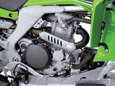 Двигатель Kawasaki KFX450R