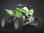 Kawasaki KFX450R: подробнее