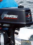 Мотор Tohatsu M 5 DS: подробнее