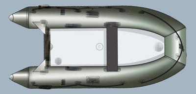 надувная лодка quicksilver 340
