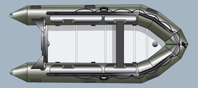 лодка пвх quicksilver 380 heavy duty