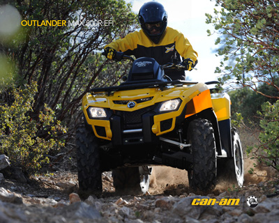 Квадроцикл Can-Am Outlander Max 800 H.O. EFI