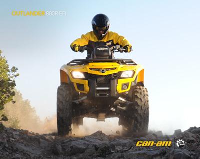 Квадроцикл Can-Am Outlander 800 H.O. EFI