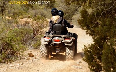 Квадроцикл Can-Am Outlander Max 650 EFI XT