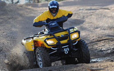 Квадроцикл Can-Am Outlander 650 EFI XT