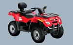 Can-Am Outlander Max 400: подробнее