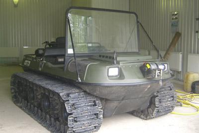 Б/у вездеход Argo Conquest 8x8