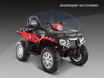 Квадроцикл Sportsman 850 EFI Touring EPS: подробнее