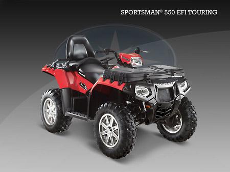 Квадроцикл Sportsman 550 EFI Touring EPS