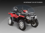 Квадроцикл Sportsman 550 EFI Touring EPS: подробнее