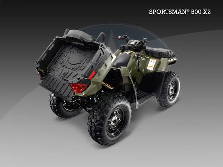 Квадроцикл Sportsman 550 EFI X2