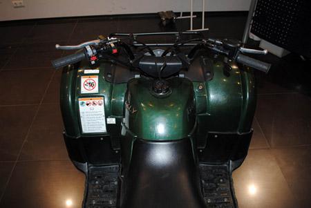 Б/у квадроцикл Yamaha Grizzly YFM125A