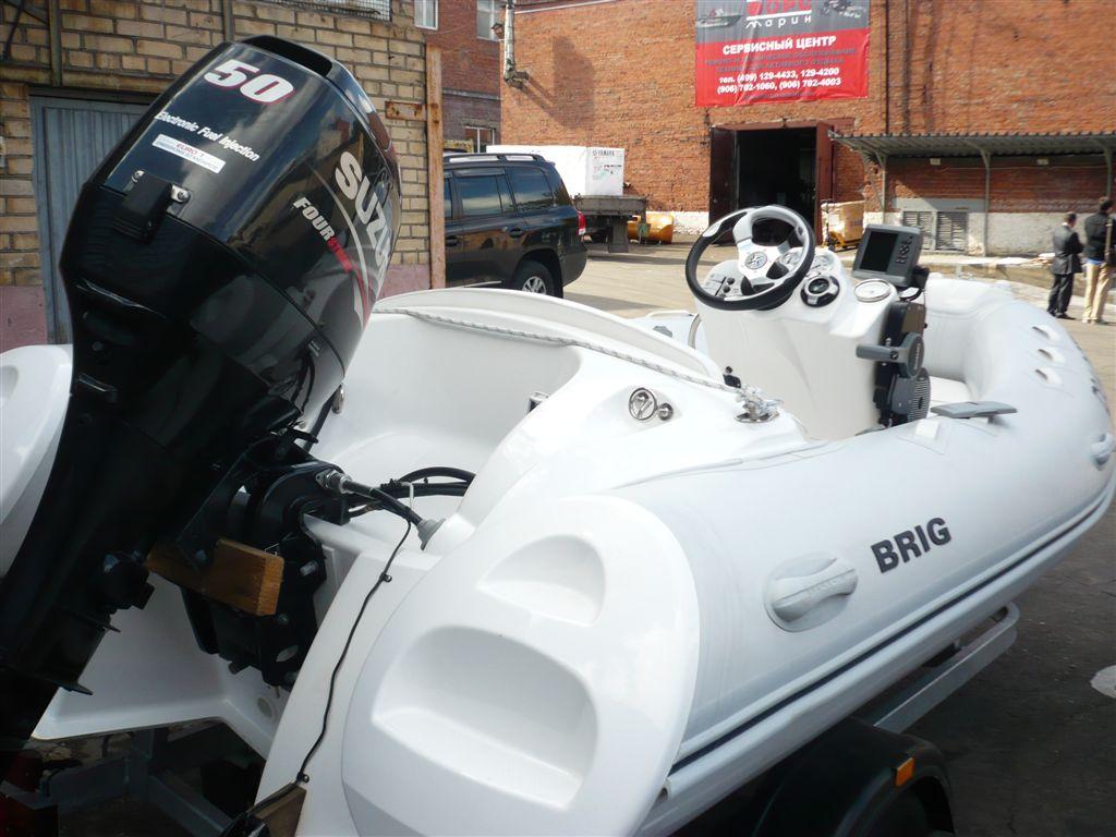 купить б.у лодки риб с мотором