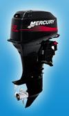 Лодочный мотор Mercury 40 EO: подробнее