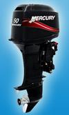 Лодочный мотор Mercury 50 EO: подробнее