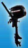 Мотор лодочный Mercury F 2.5 M: подробнее