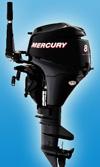 Мотор лодочный Mercury F 8 M: подробнее