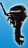 Мотор лодочный Mercury F 20 M: подробнее