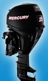 Мотор лодочный Mercury F 25 M EFI: подробнее