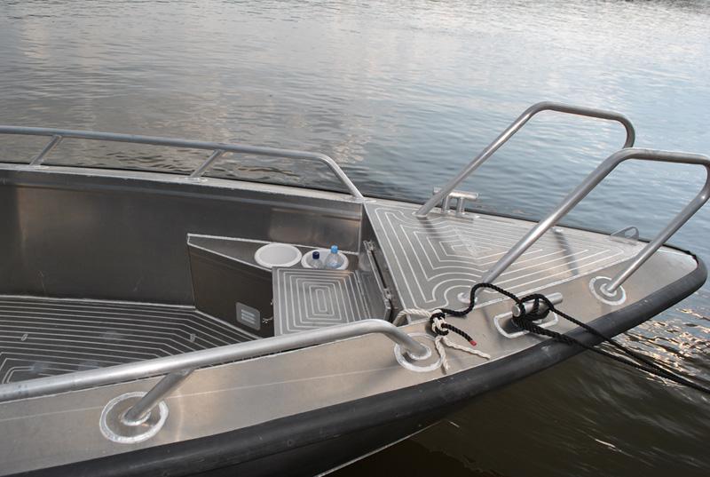 набор корпуса лодки