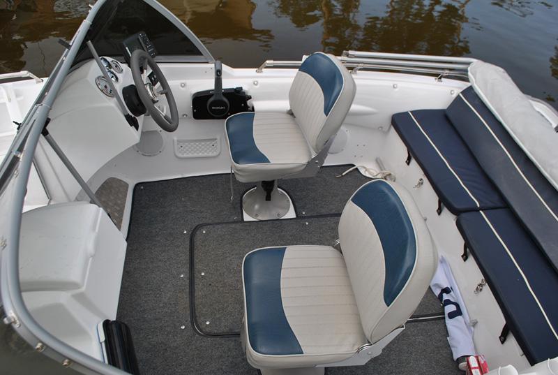 кокпит лодки алюминиевые