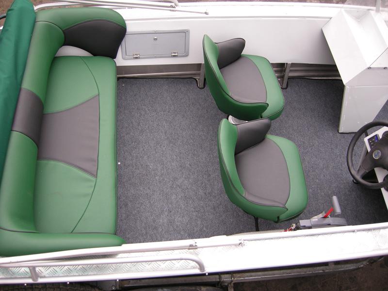 Мягкие сиденья для лодок своими руками