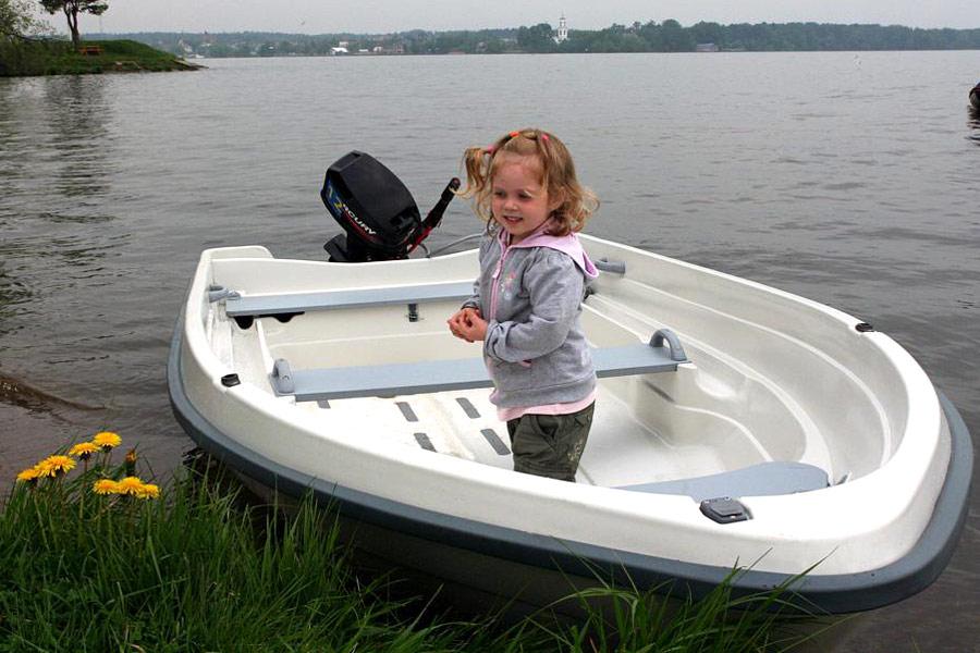 подвесной у лодки