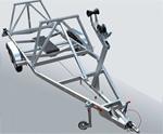 Прицеп для транспортировки килевой яхты МЗСА 822141.405: подробнее