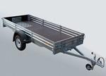 Прицеп для транспортировки снегоходов, квадроциклов и др. грузов МЗСА 817711.001-05: подробнее