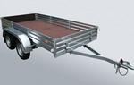 Прицеп двухосный бортовой для грузов МЗСА 817732.001-05: подробнее