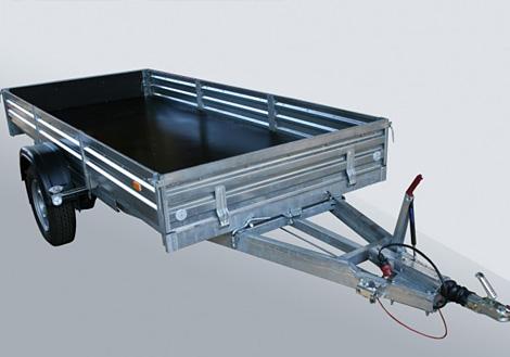 Прицеп с тормозной системой для квадроциклов МЗСА 831123.201