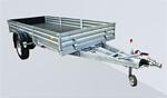 Прицеп с тормозной системой для снегоходов и квадроциклов МЗСА 831132.201: подробнее