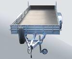 Двухосный прицеп с инерционной тормозной системой МЗСА 832164.202: подробнее