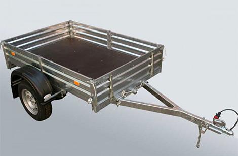 Прицеп бортовой для грузов МЗСА 817710.001-05