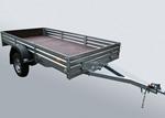 Прицеп для транспортировки квадроцикла и другой мототехники МЗСА 817703.001-05: подробнее