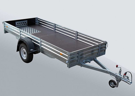 Прицеп для транспортировки снегоходов МЗСА 817711.001-05