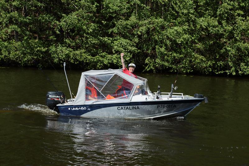 аренда лодки в петрозаводске