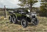 Квадроцикл Polaris SPORTSMAN 800 BIG BOSS® 6X6: подробнее