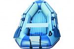 Надувная гребная лодка с надувным дном АВ 265DF: подробнее