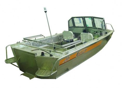 лодки вельбот 52 джет