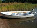 Гребная лодка Sava 440: подробнее